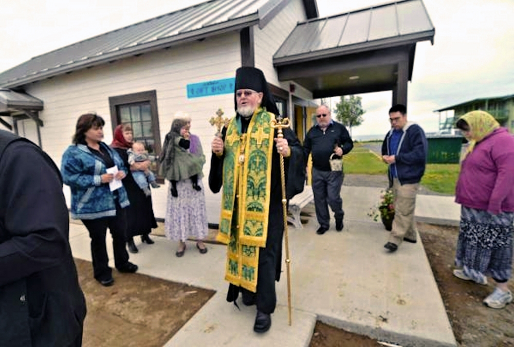 Kenais Holy Assumption Of The Virgin Mary Russian Orthodox Church Blesses New Outbuilding On Property