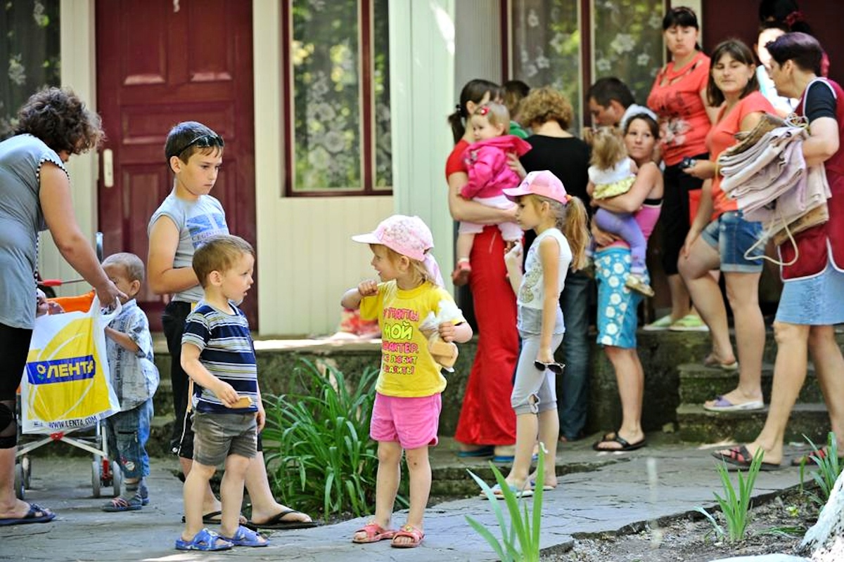 00 refugees. rostov oblast. russia. 11.06.14