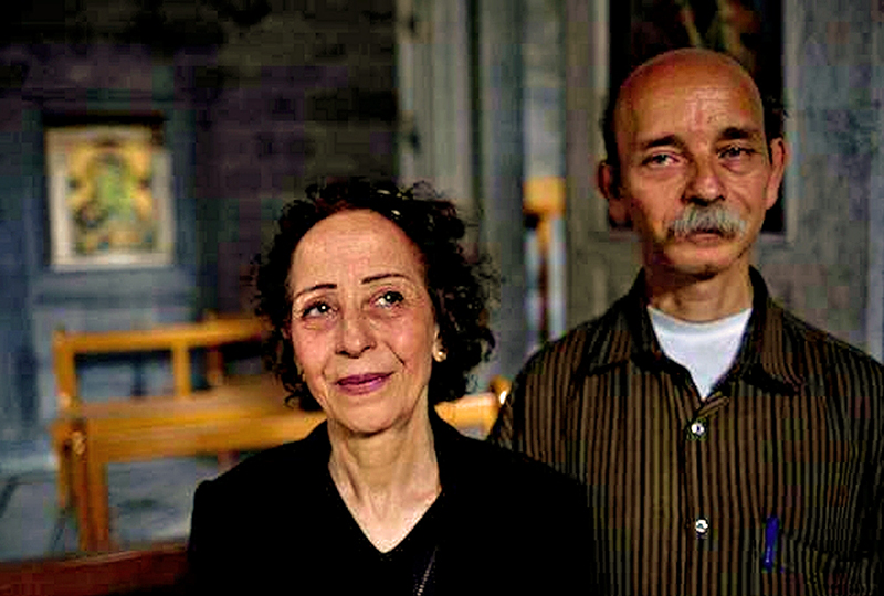 00 syrian couple in homs. 11.06.14