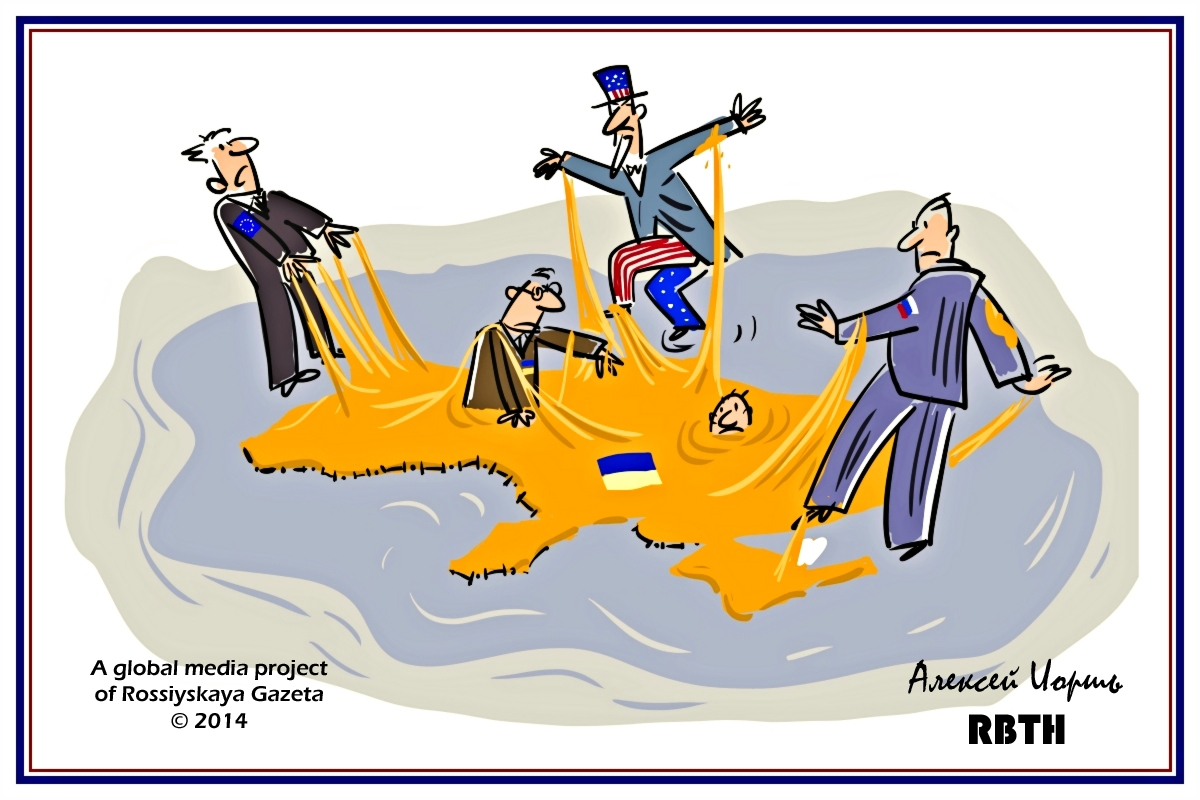 00 Aleksei Iorsh. The Ukrainian Tarpit. 2014. 11.07.14
