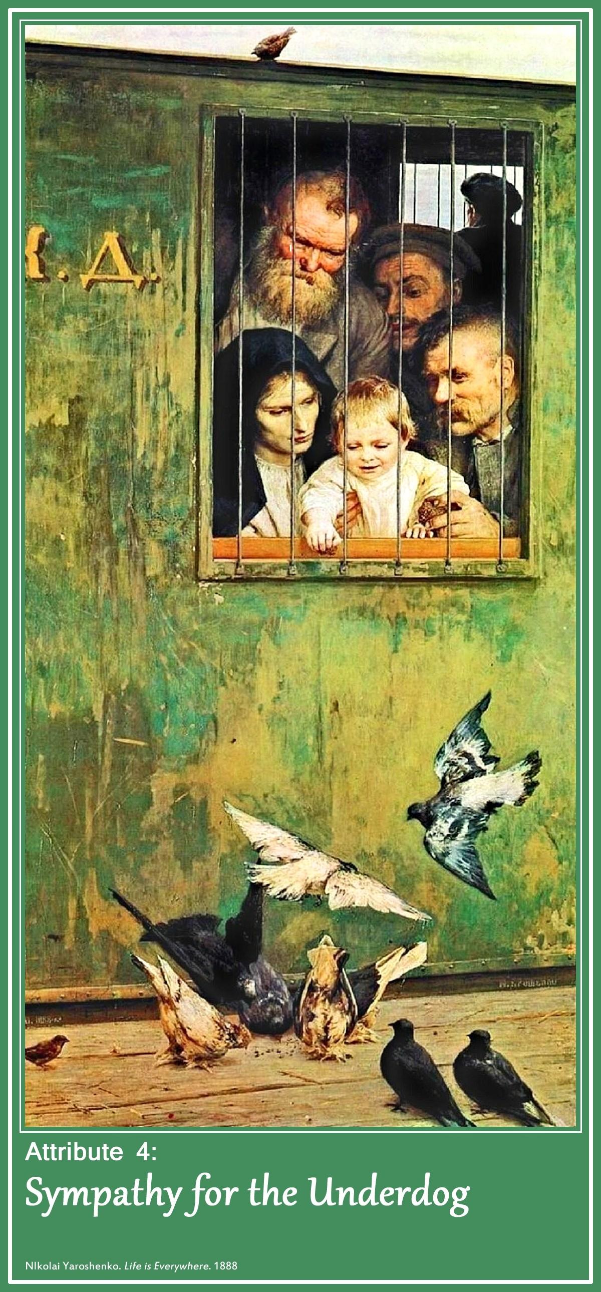 00 russia 04. Nikolai Yaroshenko. Life is Everywhere. 1888