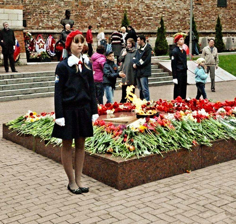 00 victory day smolensk russia. memorial. 28.06.14