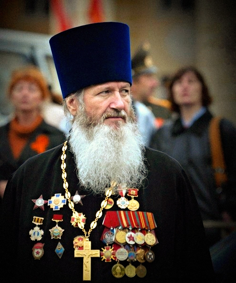 00 victory day smolensk russia. patriotic russian priest. 28.06.14