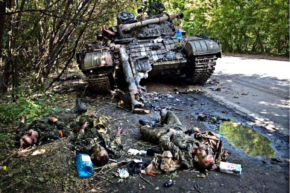 00 dead junta soldiers. Novorossiya. 17.08.14
