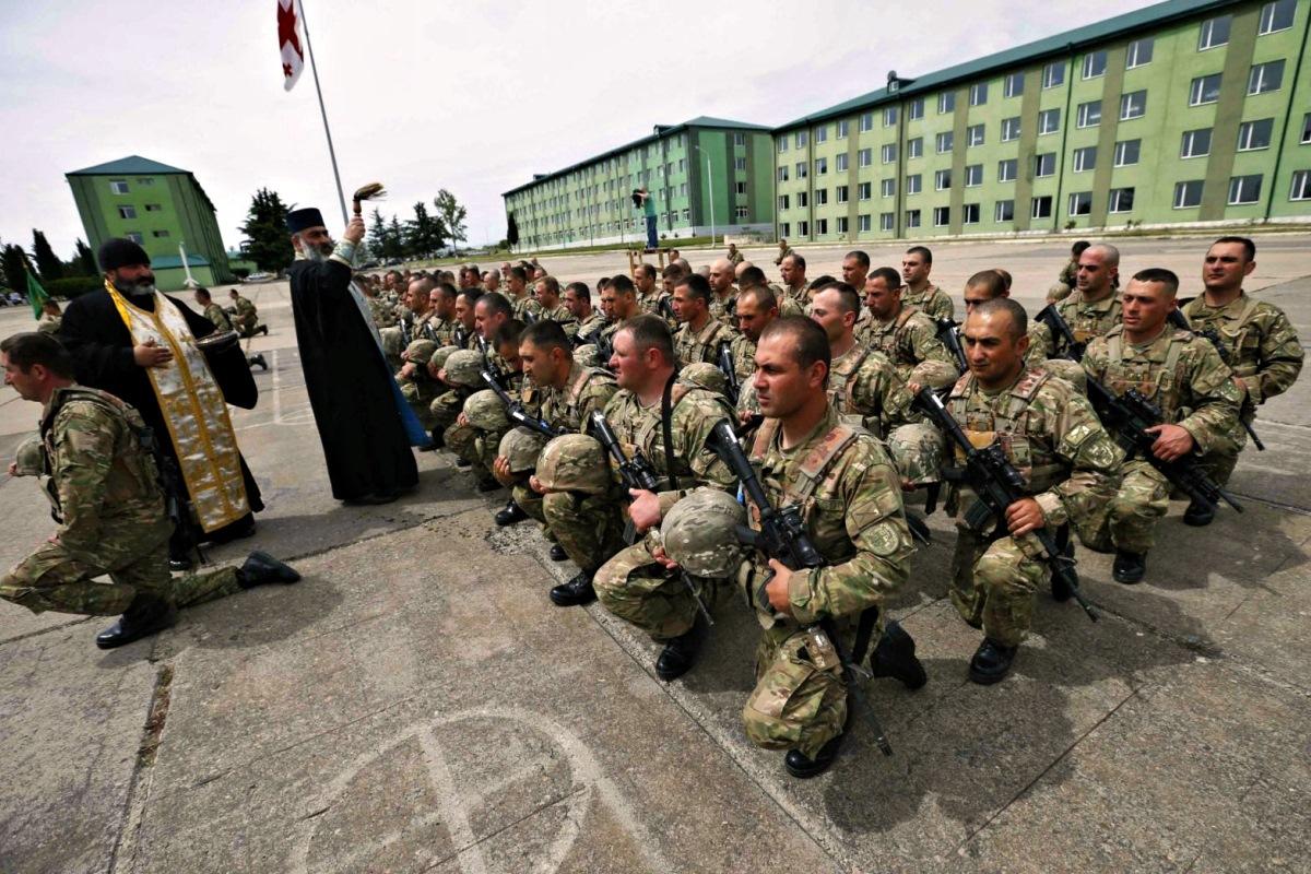 00 georgian soldiers. orthodox. 08.06.14