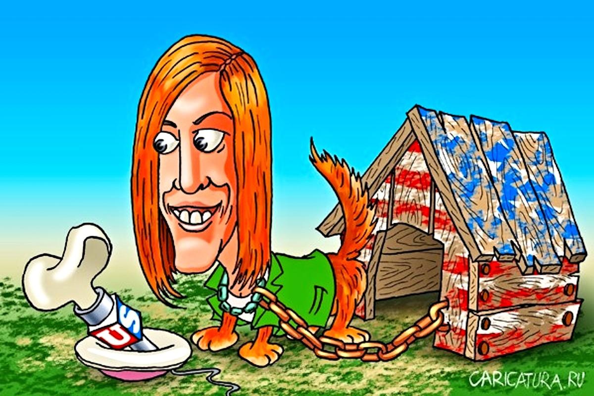 00 Jen Psaki. caricatura.ru. 27.08.14