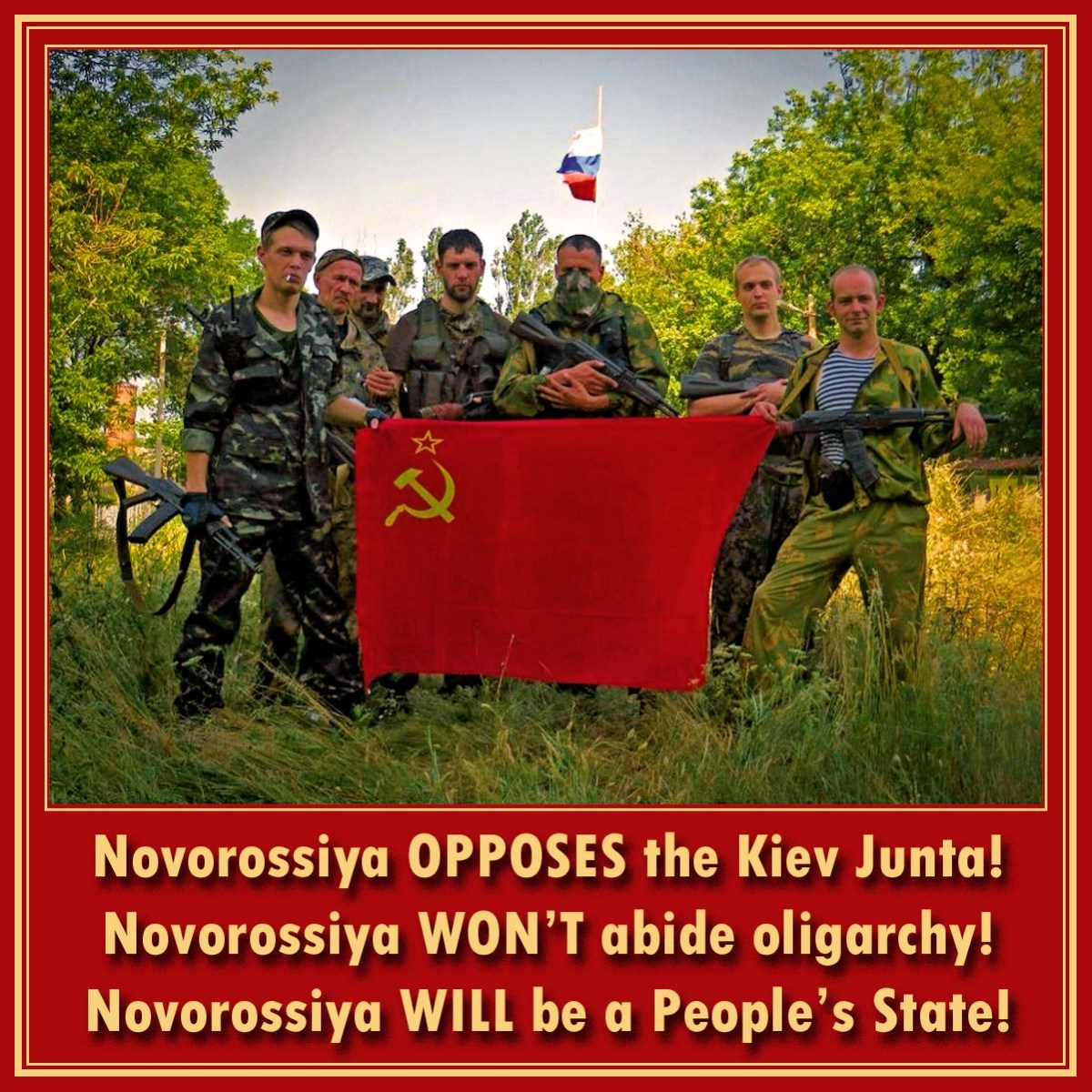 00 Novorossiya OPPOSES the Junta! 22.08.14