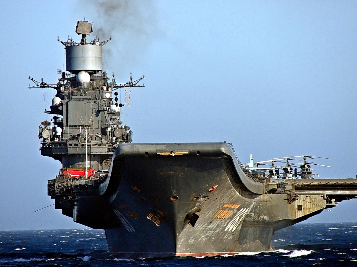 00 CVA Admiral Kuznetsov. 12.09.14