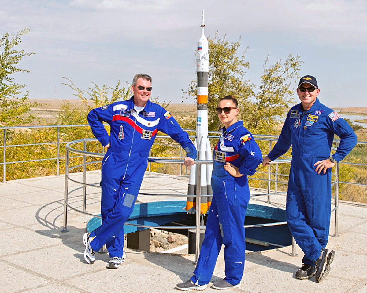 00 ISS crew. cosmosnauts. russian. usa. 22.09.14