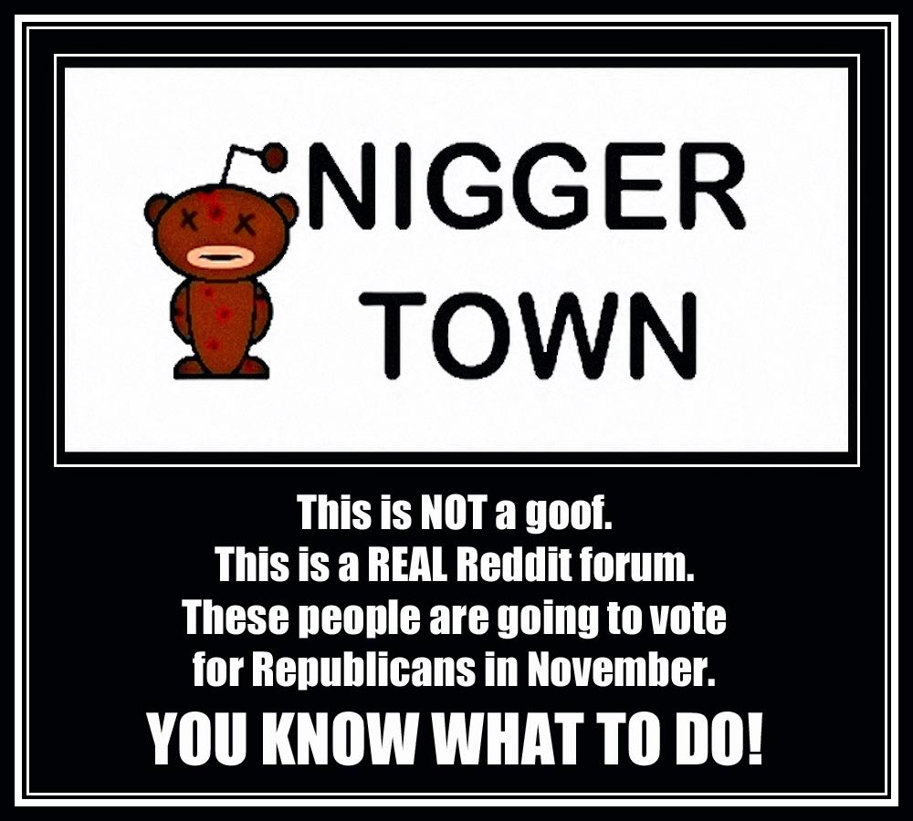 00 Nigger town. 13.09.14