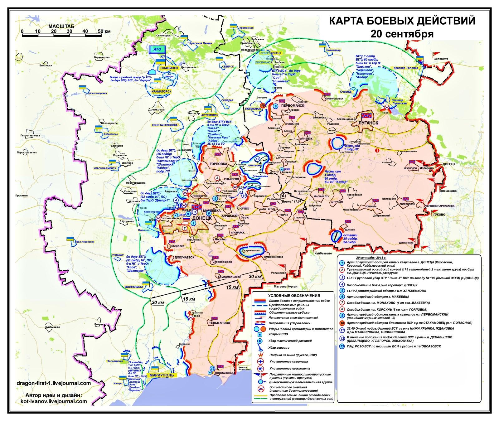 00 Novorossiya sitrep 01. 21.09.14