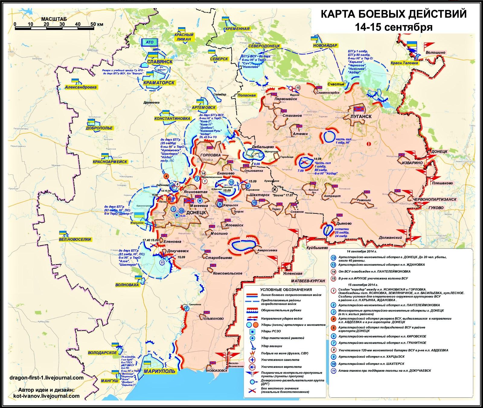 00 Novorossiya sitrep 03. 17.09.14