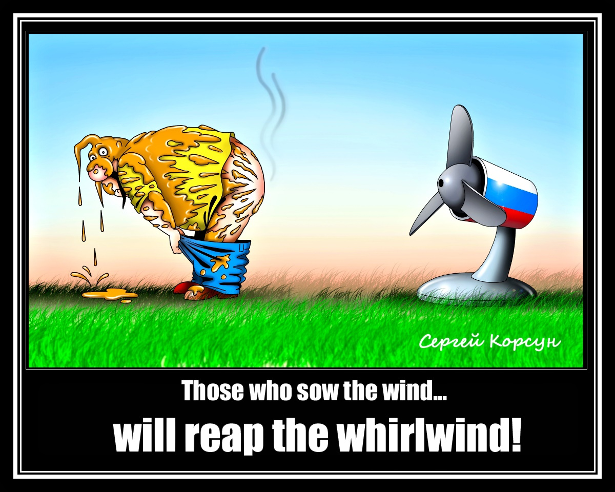 00 Sergei Korsun. Those who reap the wind will reap the whirlwind. 2014