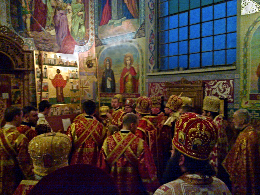 00 vespers in gorlice at relics of st maksim. 05.09.14