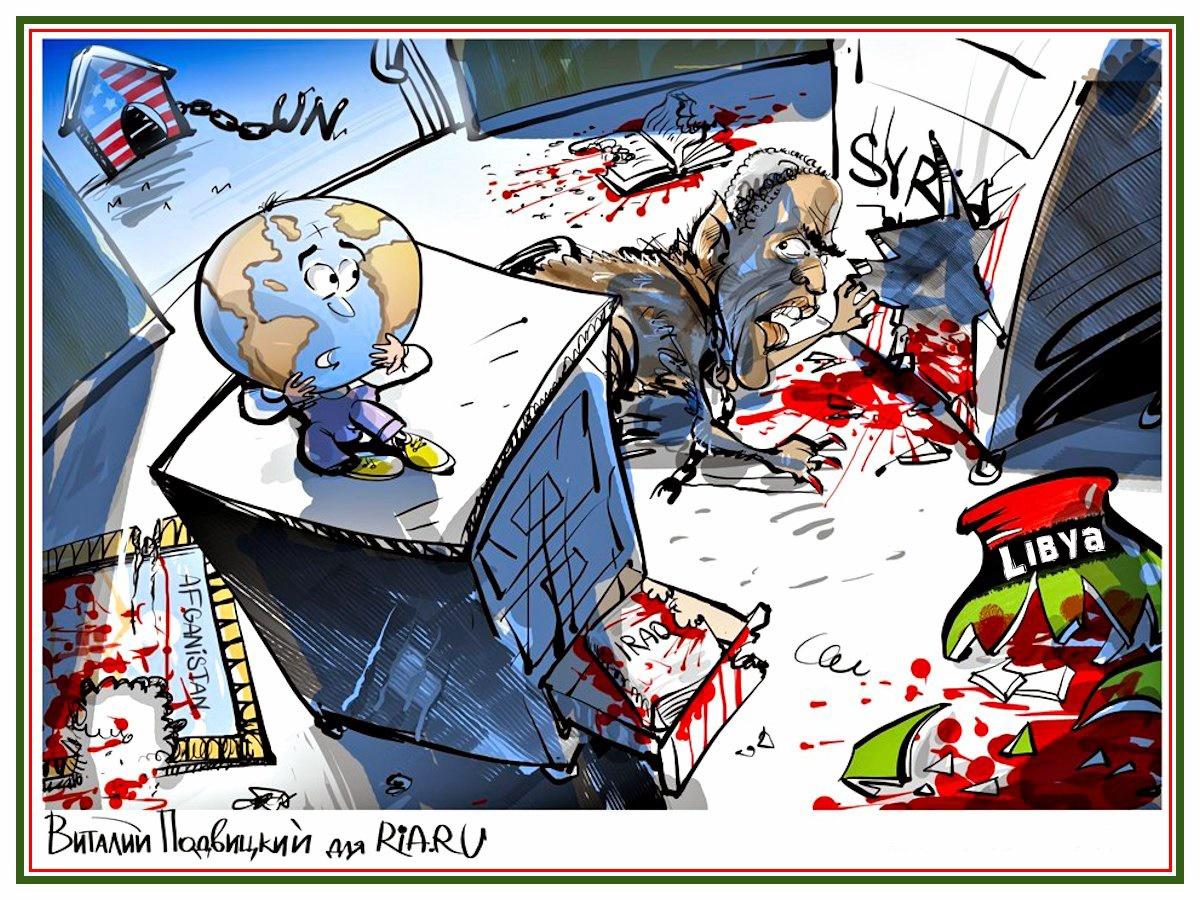 00 Vitaly Podvitsky. Obama the Peacemaker. 2014