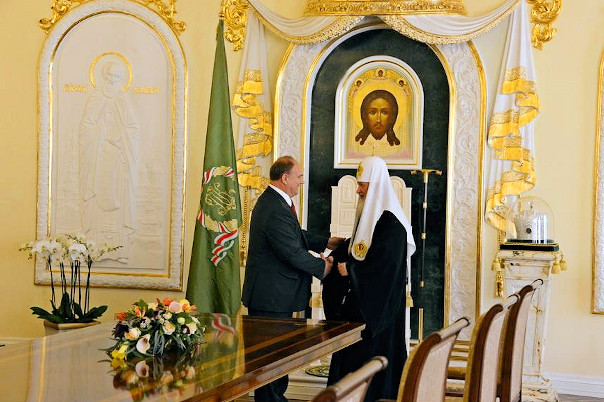 00 Zyuganov and HH Kirill. 14.09.14