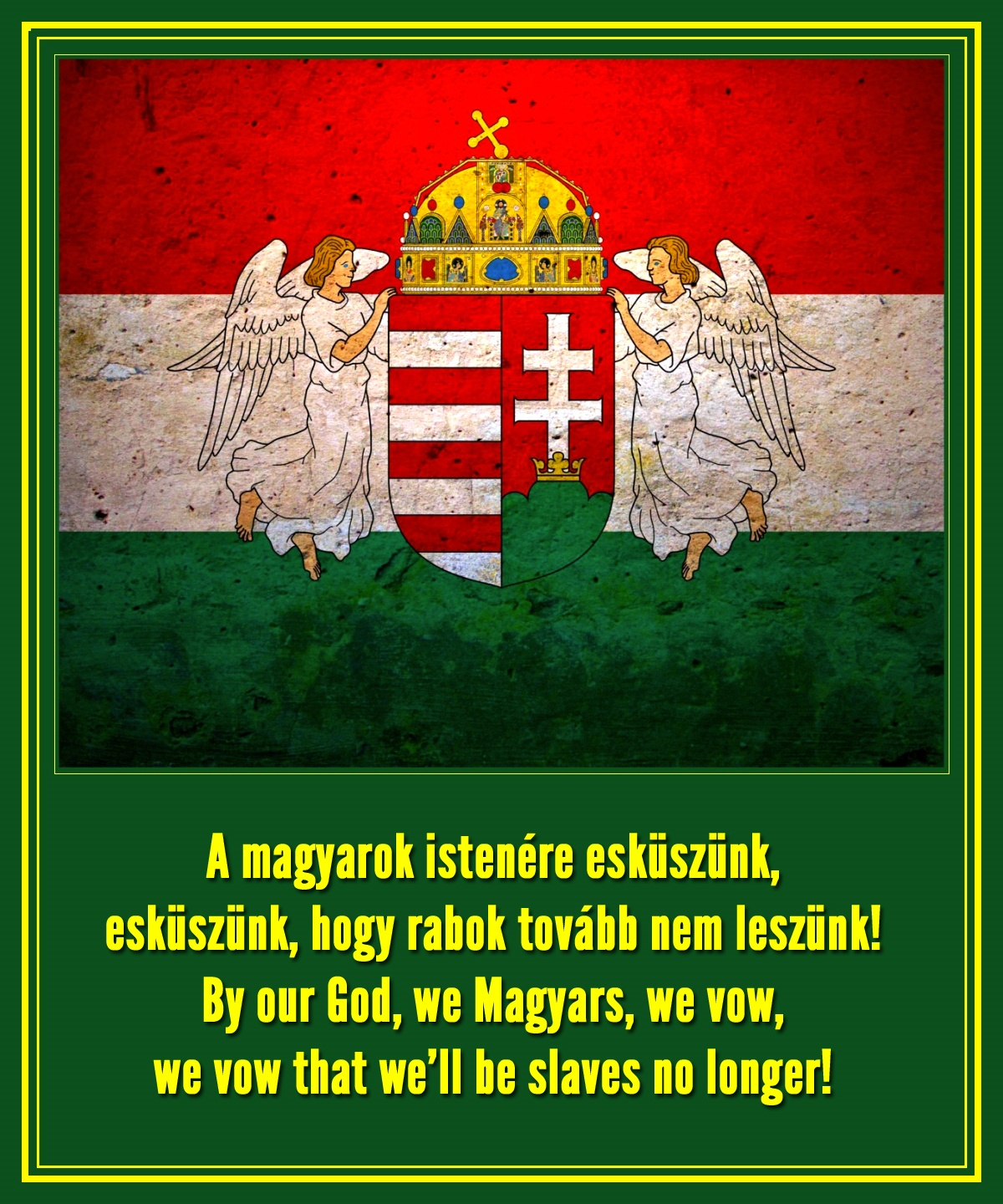 00 Hungarian National Poem. We'll Not be Slaves! 29.10.14.