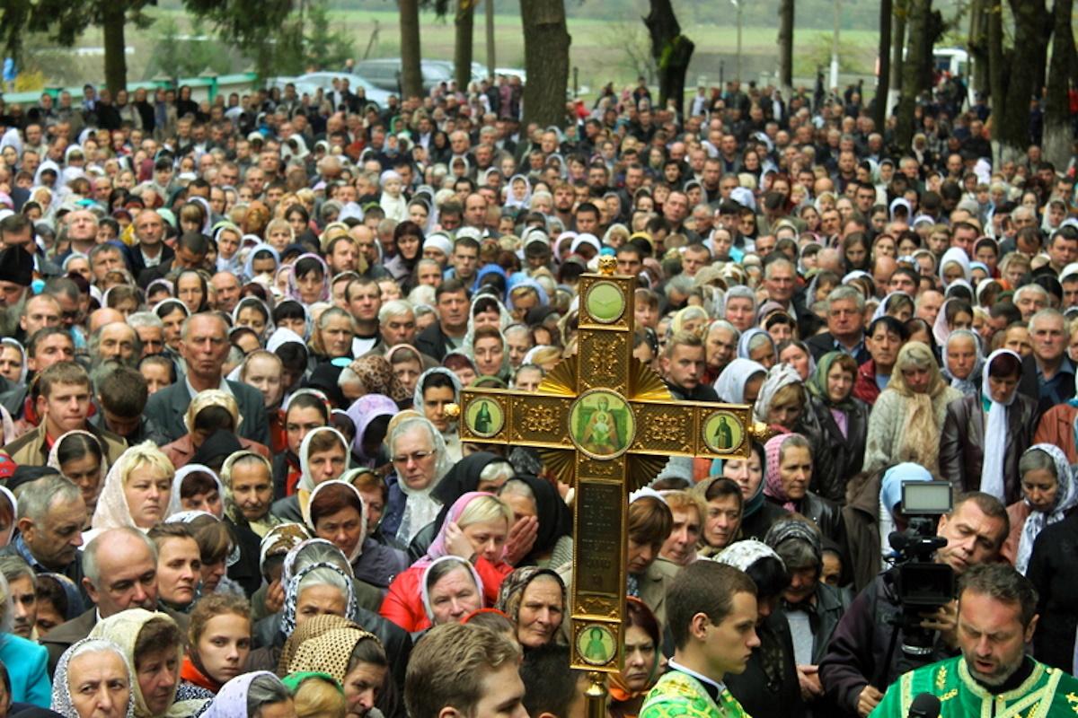 00 Khust. Carpatho-Russia. liturgy 01. 22.10.14