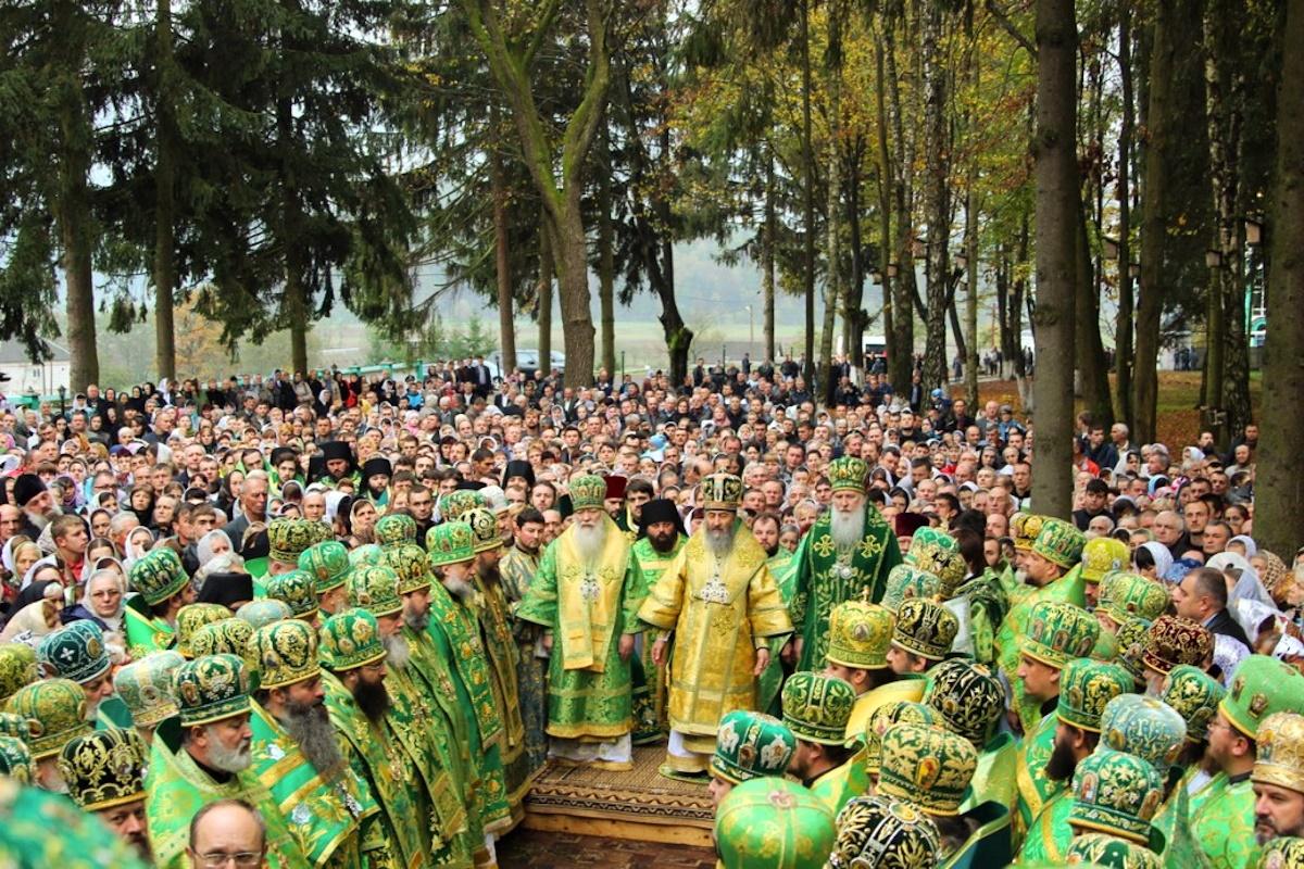 00 Khust. Carpatho-Russia. liturgy 02. 22.10.14