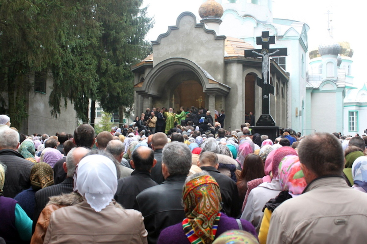 00 Khust. Carpatho-Russia. liturgy 03. 22.10.14