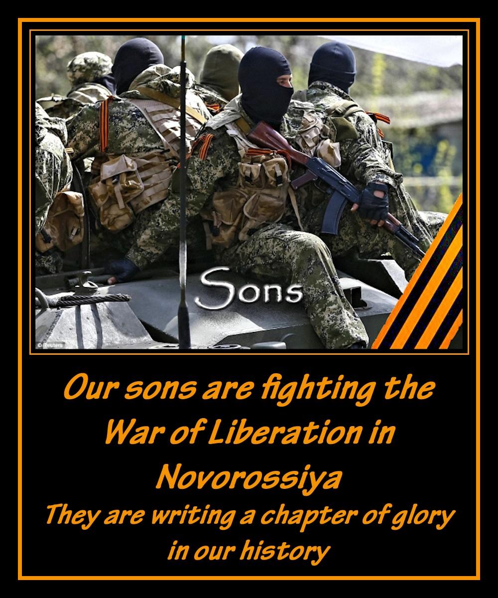 00 russian soldiers 04. 2014 Novorossiya. 11.10.14