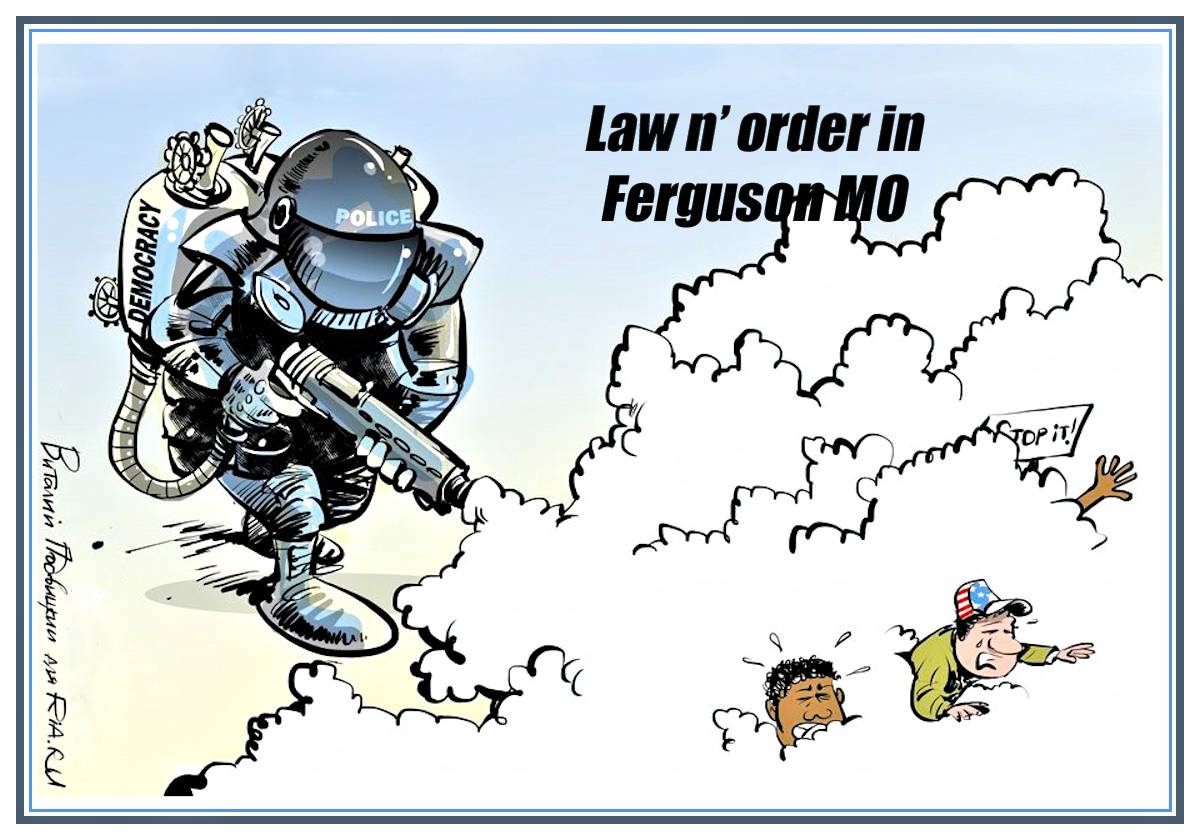 Ferguson MO Political Cartoons