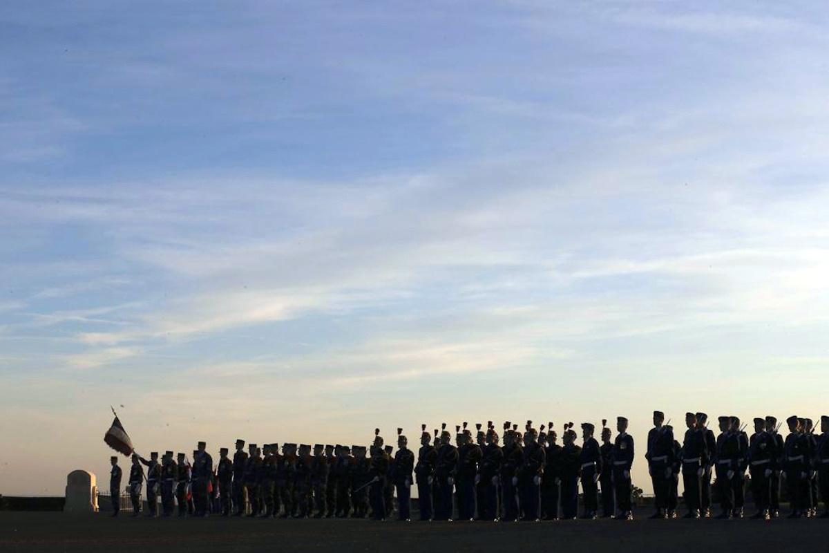 00 Notre Dame de Lorette. FRANCE. WWI memorial. 12.11.14