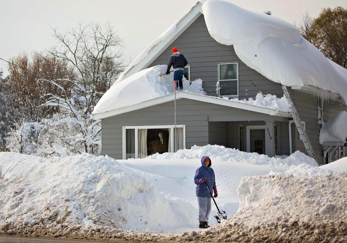 00 snow. Cheektowaga NY. 22.11.14