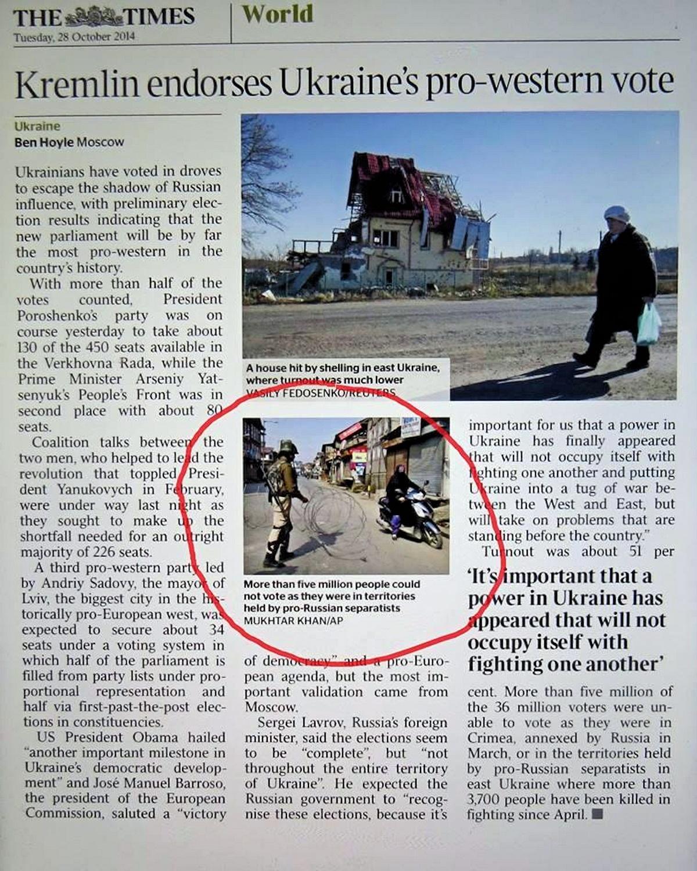 00 The Times of London. sorry-ass propaganda. 01.11.14