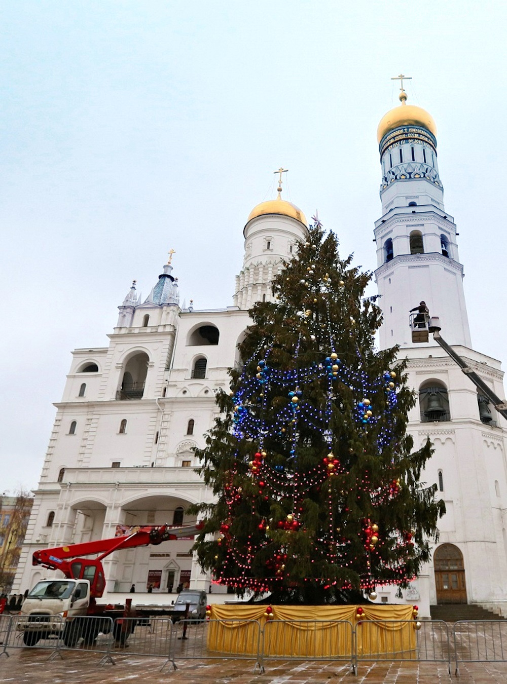 00 2015 New Year Tree Moscow RUSSIA 08. 25.12.14