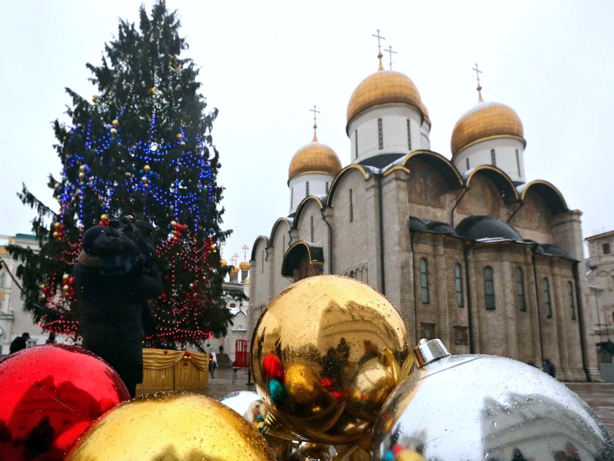 00 2015 New Year Tree Moscow RUSSIA 10. 25.12.14