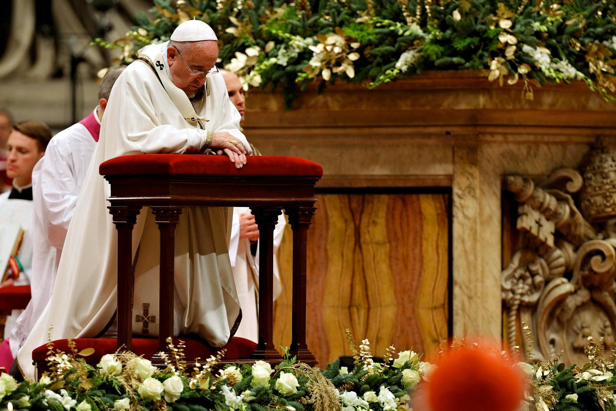 00 Catholic Christmas 04. Vatican. Pope Francisco. 28.12.14