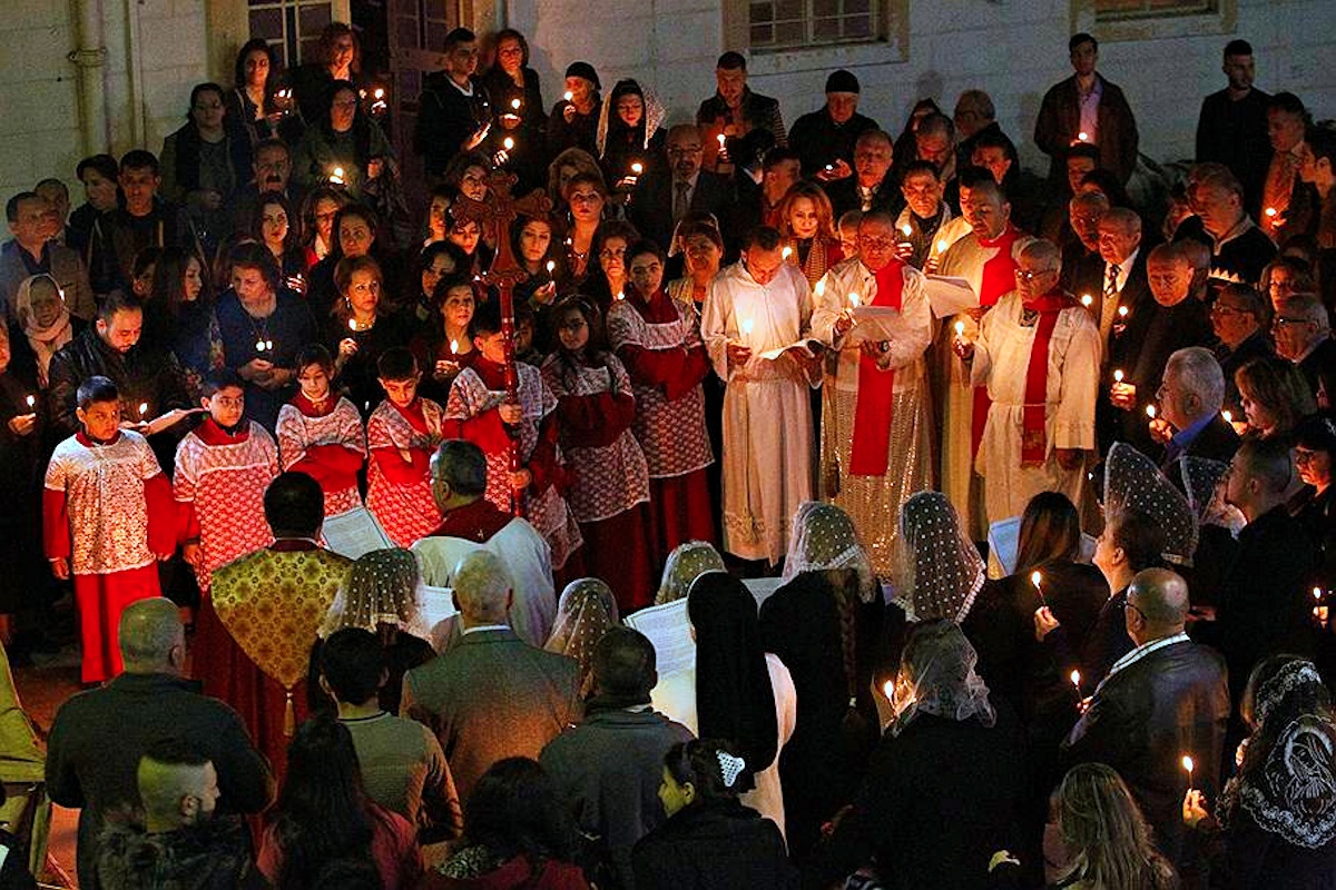 00 Catholic Christmas 06. Baghdad. 28.12.14