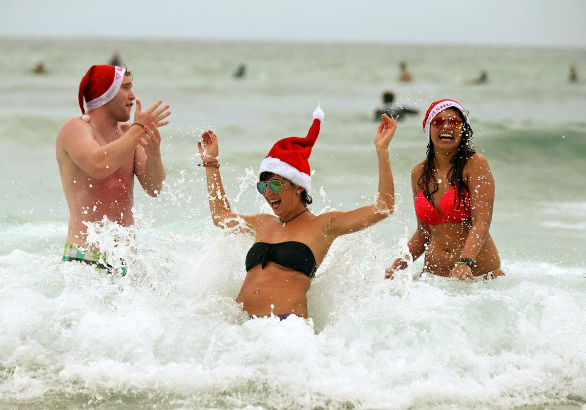 00 Christmas Spirit 03. Sydney AUSTRALIA. 25.12.14