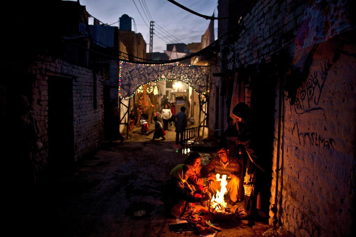 00 Christmas Spirit 07. Islamabad PAKISTAN. 25.12.14