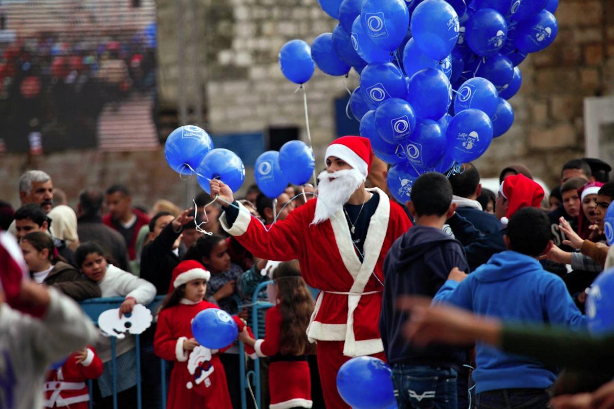 00 Christmas Spirit 09. Bethlehem PALESTINE. 25.12.14