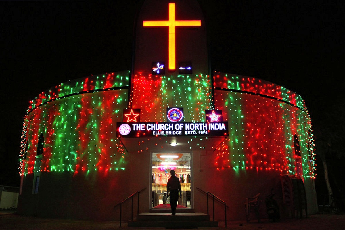 00 Christmas Spirit 10. Ahmadabad INDIA. 25.12.14