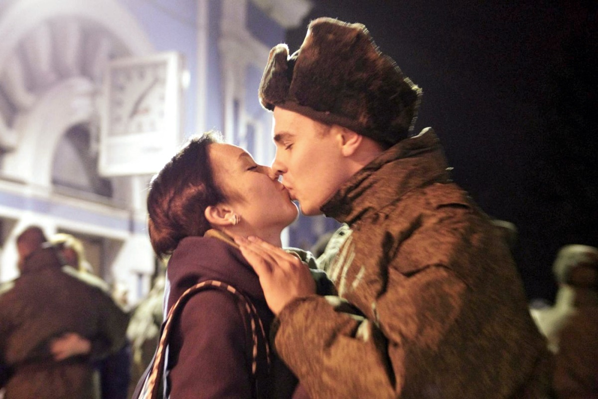 00 Kiss in Stavropol Russia. 22.12.14