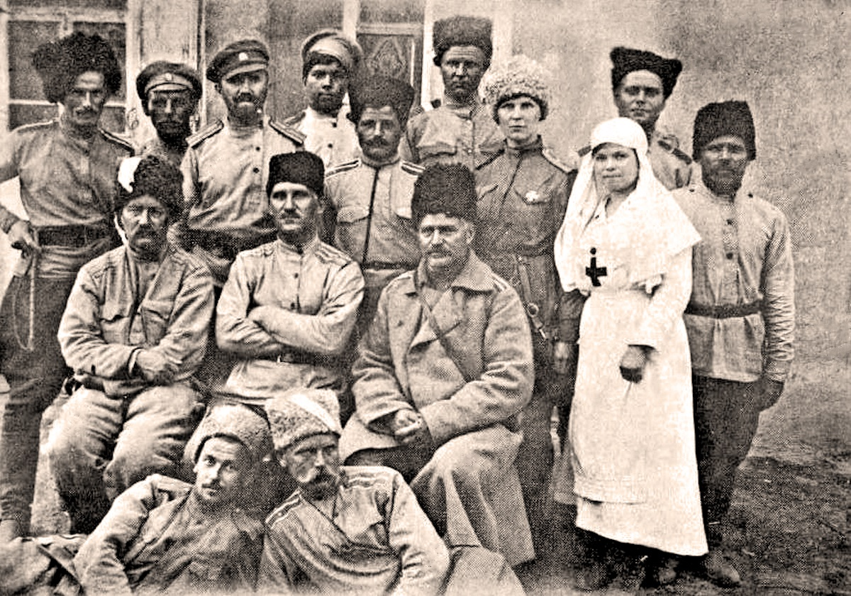 00 Russian Civil War. White Army soldiers. 26.12.14