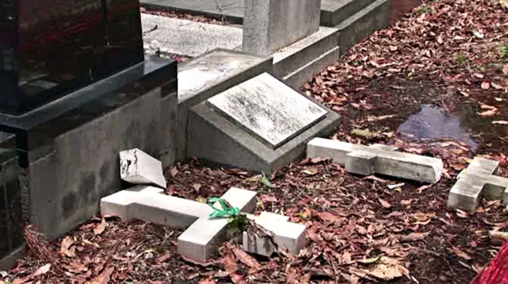 00 Sydney russian cemetery desecration. 13.12.14