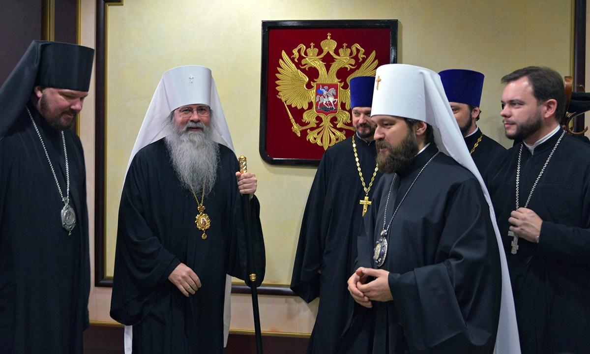 00 Tikhon Mollard and Ilarion Alfeyev. Moscow. 03.12.14