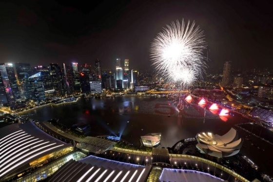 00 fireworks new year 04. Singapore. 02.01.15