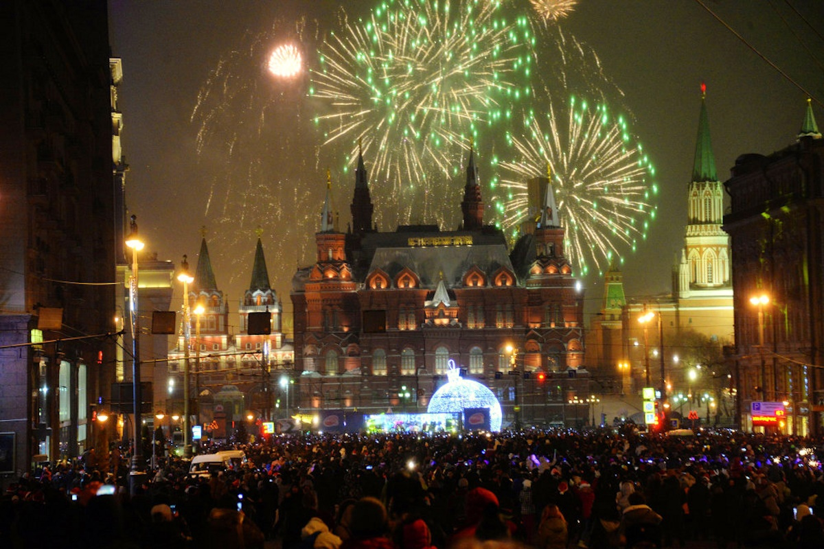 00 fireworks new year 11. moscow russia. 02.01.15