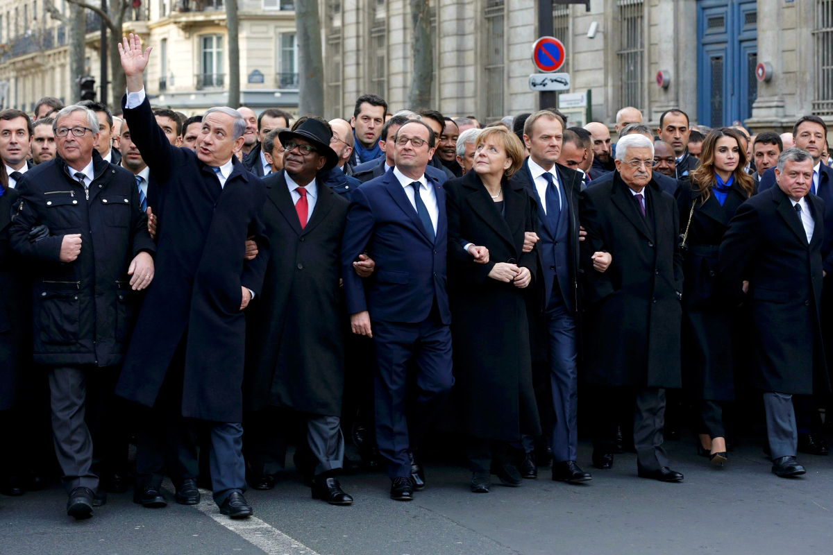00 free speech march in paris. 14.01.15