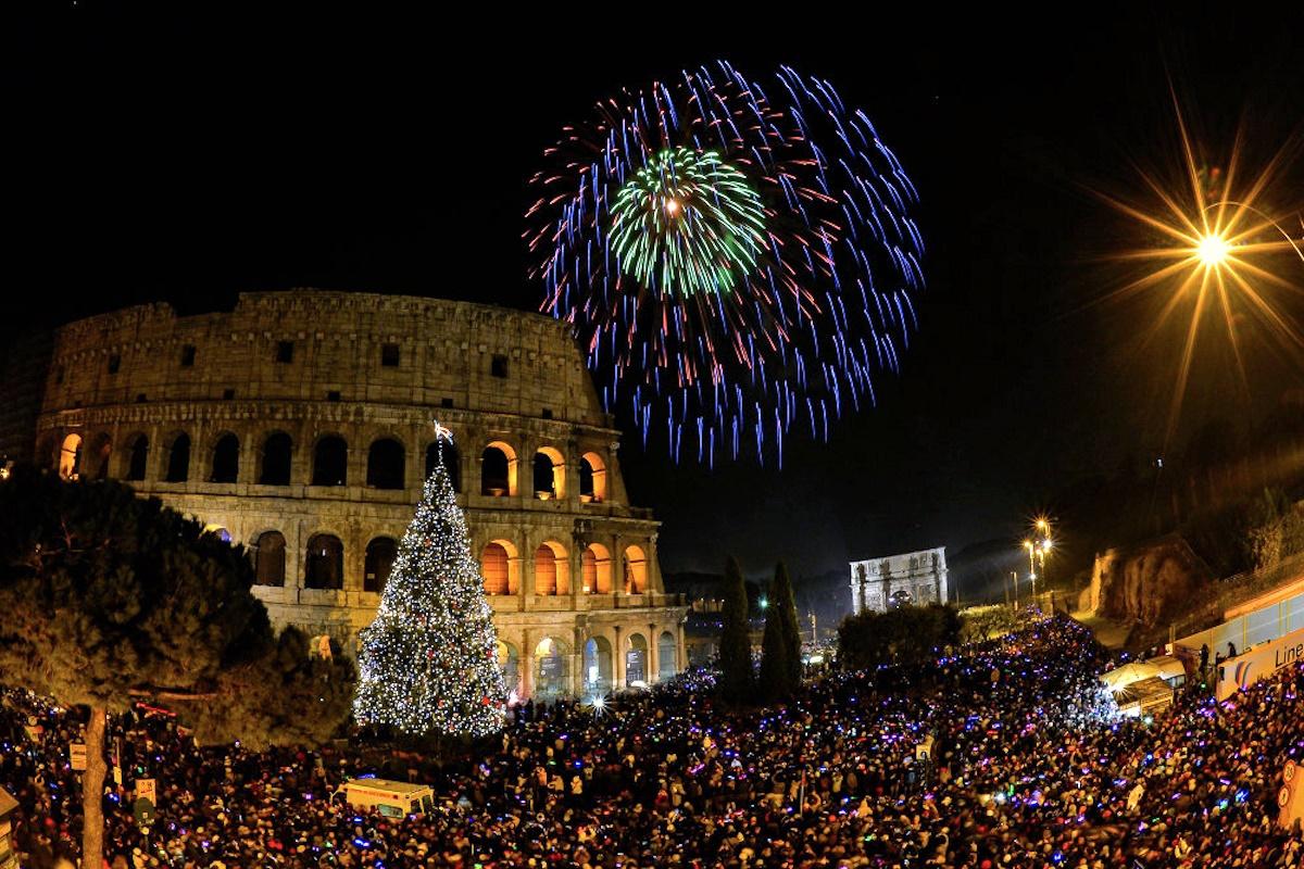 00 new year 15. rome italy. 04.01.14