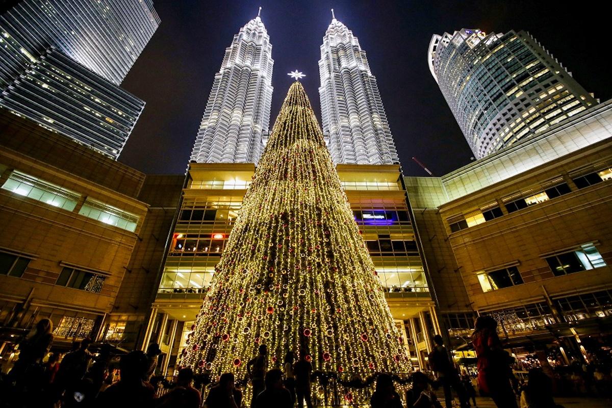 00 New Year Trees 15. Kuala lumpur Malaysia. 01.01.15