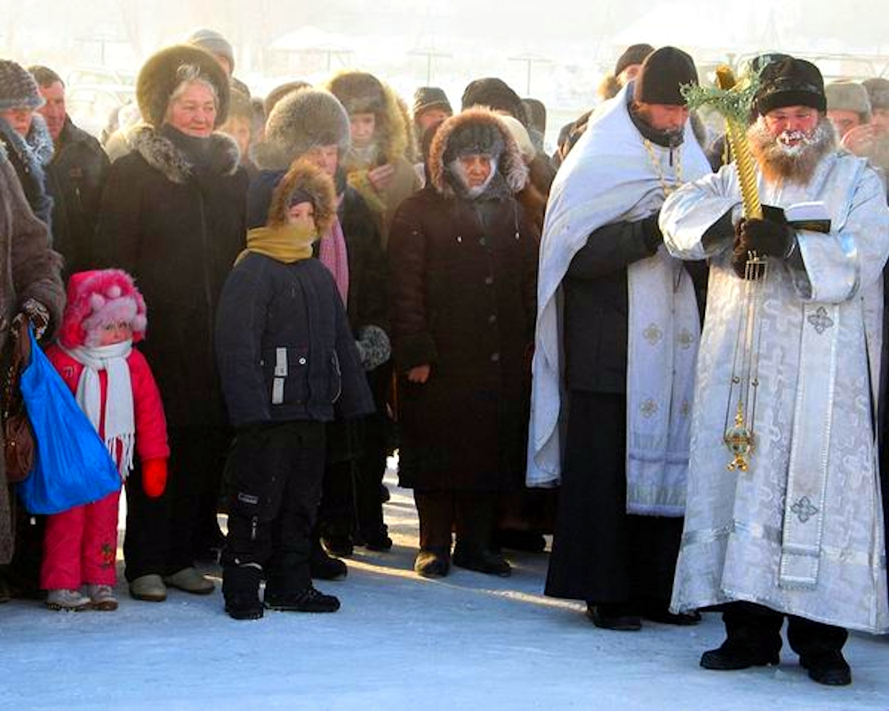 00 Orthodox epiphany. siberia 02. 19.01.15