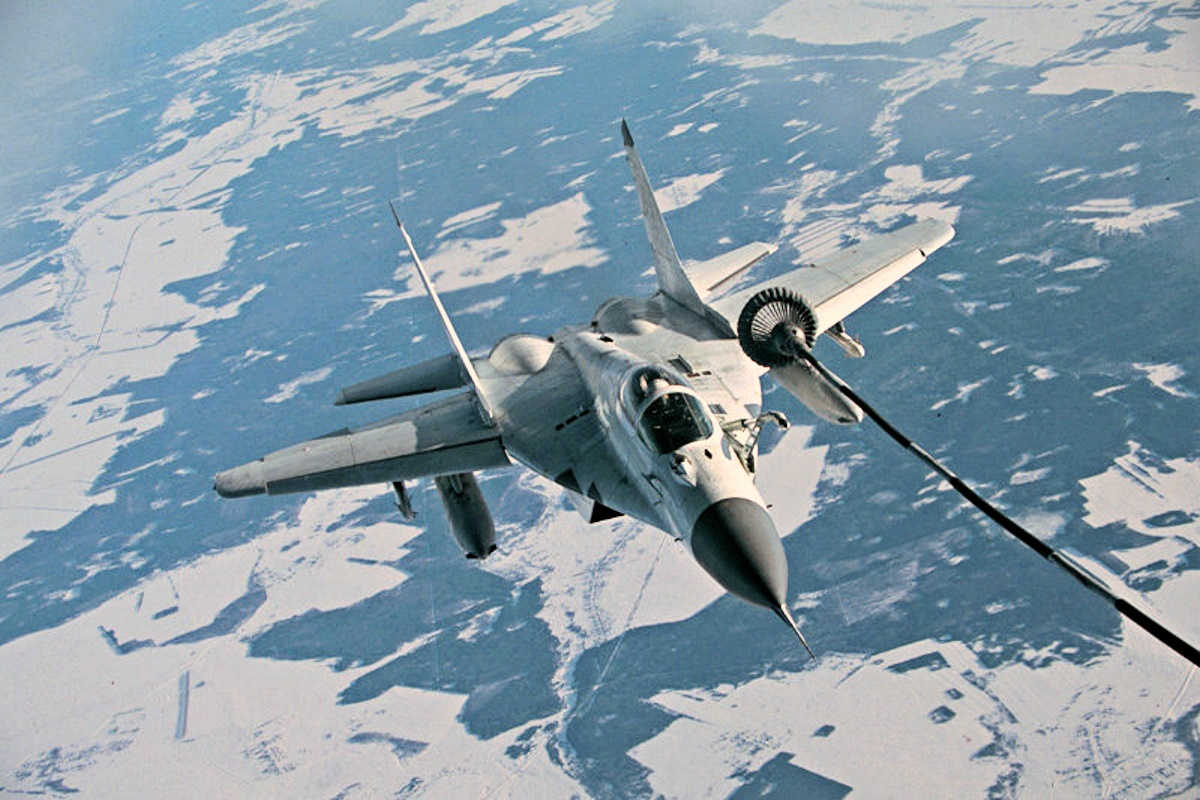 00 russian MiG fighter. 04.01.15
