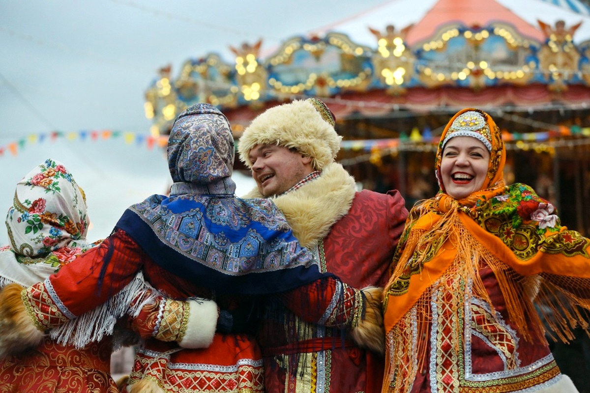 00 Russian New Year 02. Moscow Christmas Fair. 01.01.15