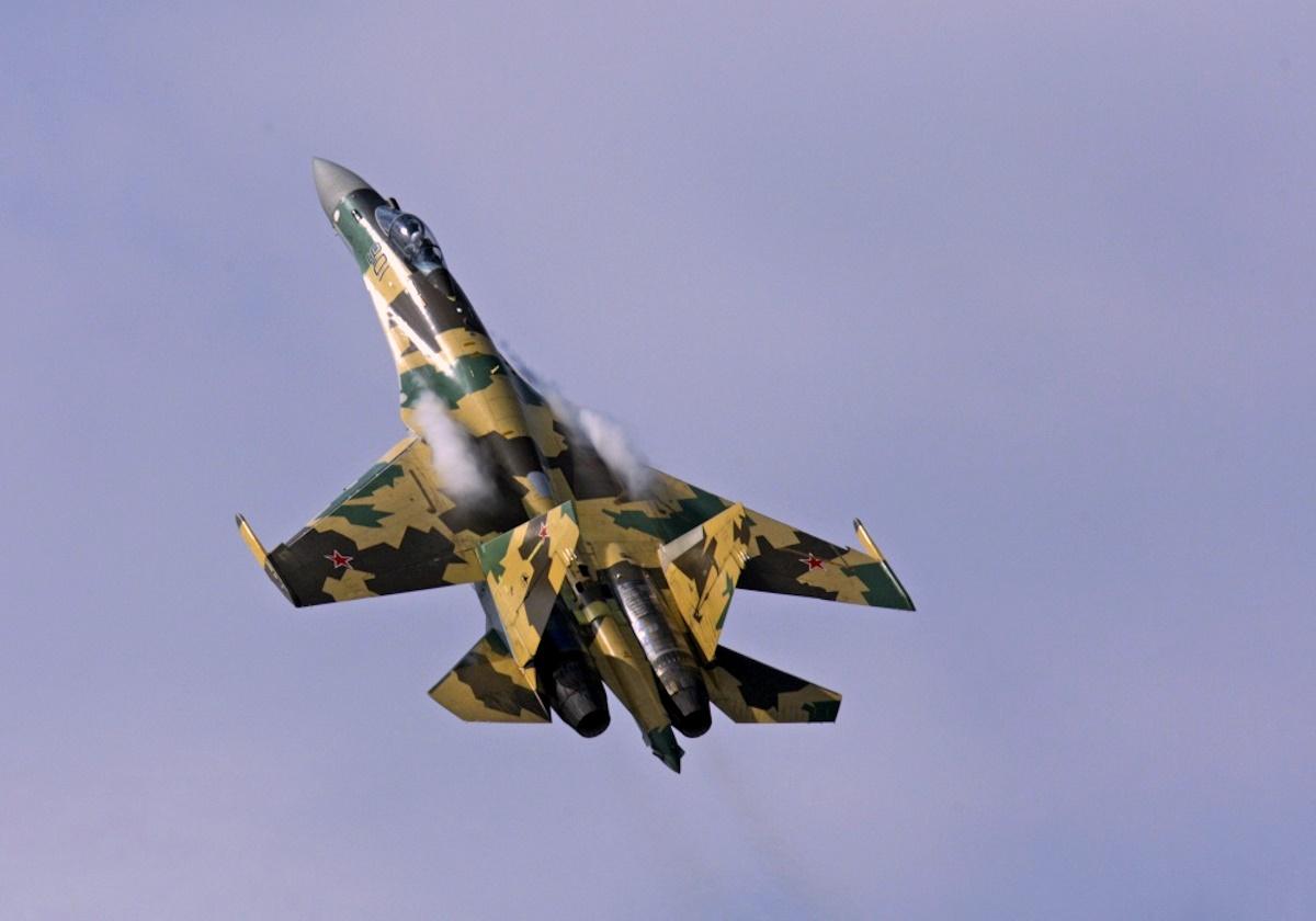 00 russian Su-35 aircraft. 04.01.15